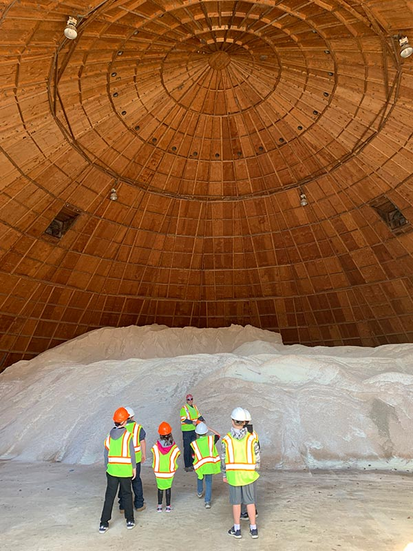 The Salt Dome at DPW