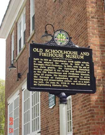 Old Schoolhouse and Fire Museum