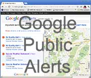 Google Public Alerts for Sussex County, NJ